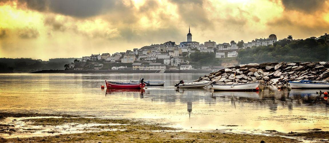Yellow Landscape Asturias Taking Photos