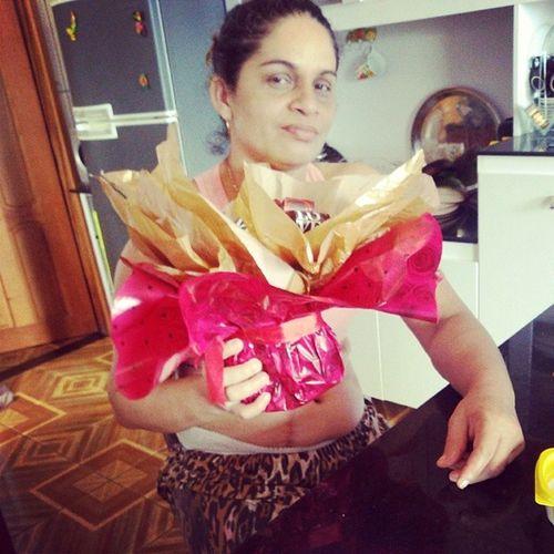 Carinho, amor e respeito, estes sim são os melhores presentes que podemos dar as nossas Mães! Te amo Dona Sandra ❤ ?