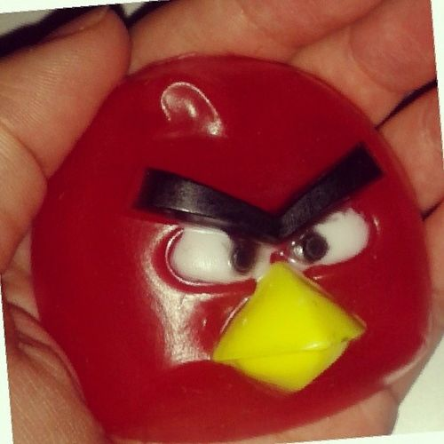 """""""Angry bird"""" handmade soap мыло ручной работы. Хотите такое? Просто скажите! Angry_bird M_soap Handmade Soap"""