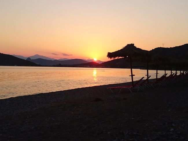 Sunset Beach Grece