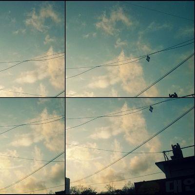 눈온뒤 하늘
