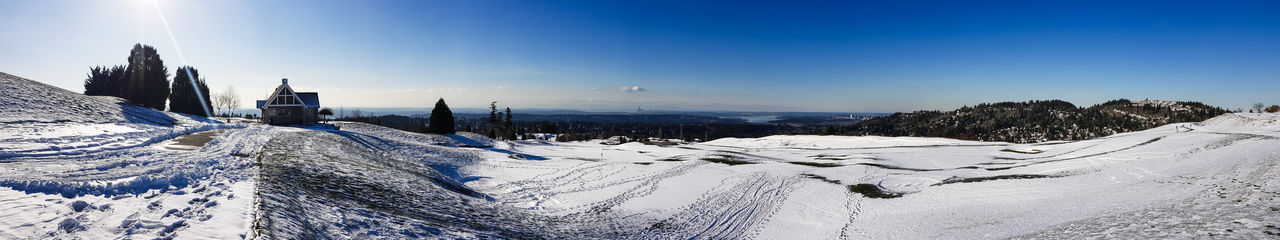 Panoramic Pacific Northwest The Week on EyeEm Light And Shadow Mobilephotography Samsungphotography Capture The Moment Winter Landscape Snow Cold Temperature Winter Mountain Blue Sky Landscape Snowcapped Mountain Mountain Range Panoramic Tranquil Scene Countryside Scenics Calm