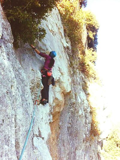 RockClimbing Outdoors People Climbing Challenge Nature Extreme Sports Rock Climbing Onthewall Multipitch Route Multipitch