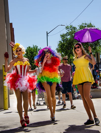 City Lifestyle Not Your Cliche Utah Day Enjoyment Fashion Festival Humans Love Is Love Loveiseverywhere Multi Colored Portrait Pride Prideparade2018 Real People Smiling Steeet Photography
