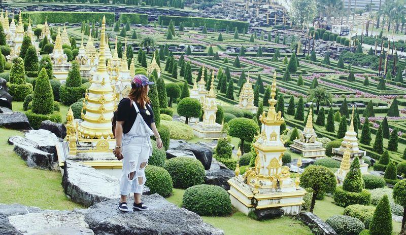 Thailand Thailandtravel Pattaya Thailand Nong Nooch Tropical Bothanical Garden Travel
