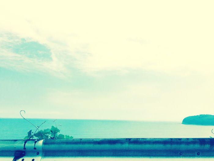 地球は青かった。The earth was bluish. 海 真鶴 三ツ石 地球 Earth Bluish Sea Sea And Sky Japan Photos First Eyeem Photo