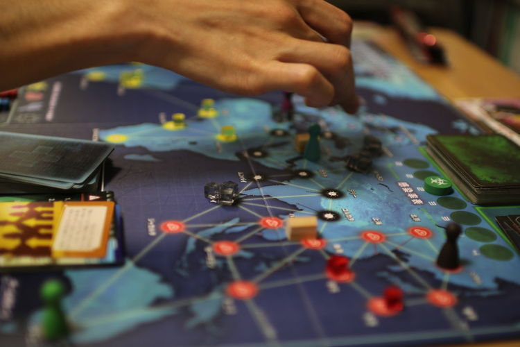 Board Games Game Pandemic Playing Games アナログゲーム