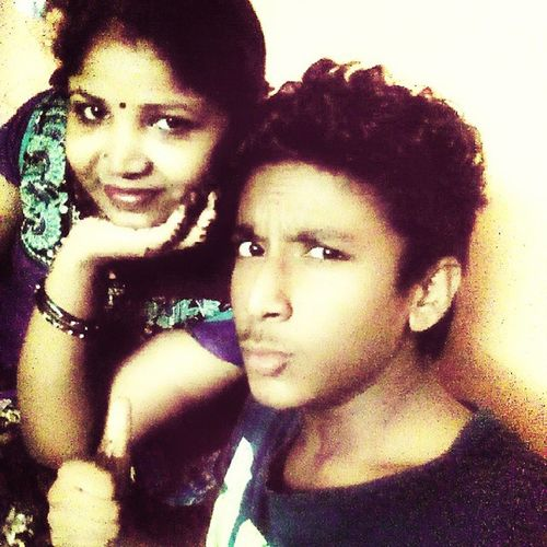 Me Mom Together Funny Face Posing Selfie Night Happy Shez So Cute I Love Her A Lot Awesome Followme Like Comment 😘😘😘😘😘😘😘😘😘