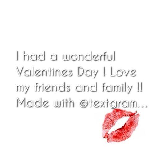 My valentines day was fun !