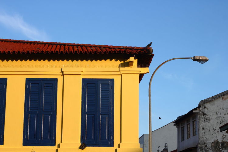 shop house vintage colourful street photos Architecture Building Day Outdoors Shop_house Sky