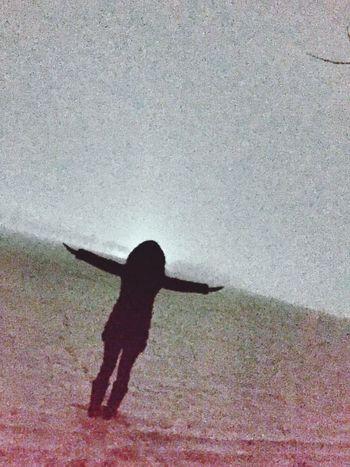 Moonlight Selfie