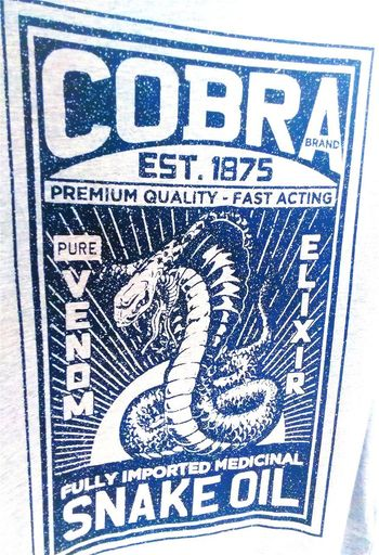 Elixirs T Shirt SnakeOils Western Script Text Taking Photos Venom 1875 No People Check This Out Snake Venom Pure Venom Cobra Snake Cobrasnake Snake Snakes Animal Themes Animal Representation T-shirt Cobra Tshirt Tshirts T Shirts Since 1875 Snake Oil Elixir Tshirt♡ T Shirt Collection 1875 T Shirt Art