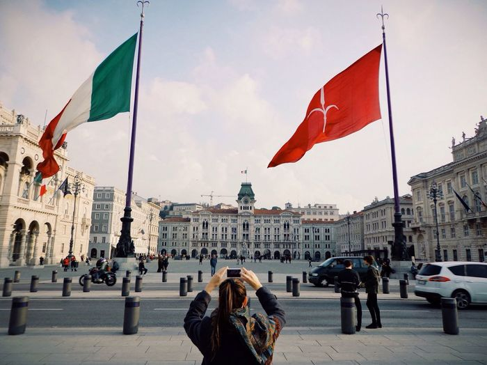 Turista a Trieste Trieste Italy Girlfriend