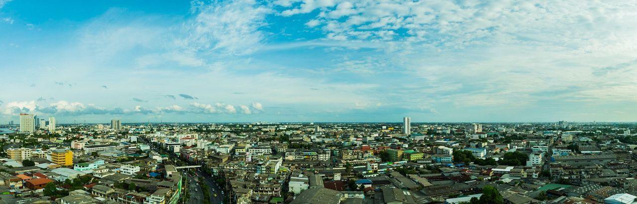 Infinite panorama Cityscape