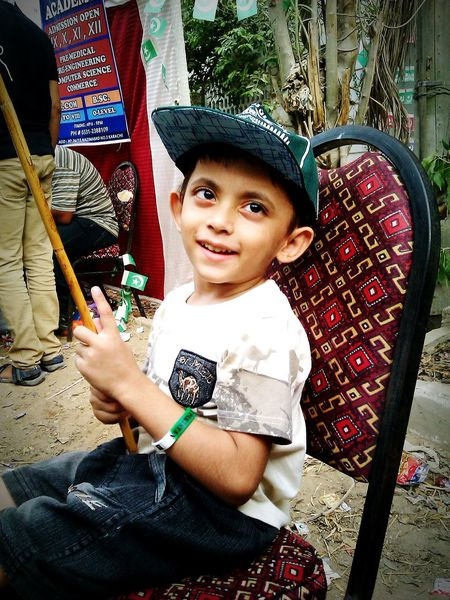 Pakistan Zindabad <3 Cute Baby !!!! My Little Brother ❤