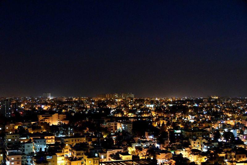 Cityscape Residential District Balcony Shot Bangaloredairies Illuminated Nightphotography Night Lights Nikon D750 IAmNikon, EyeEmNewHere