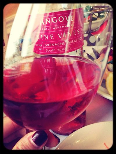 Stanley, Hong Kong Vines Nine Rosé Angove Seafood