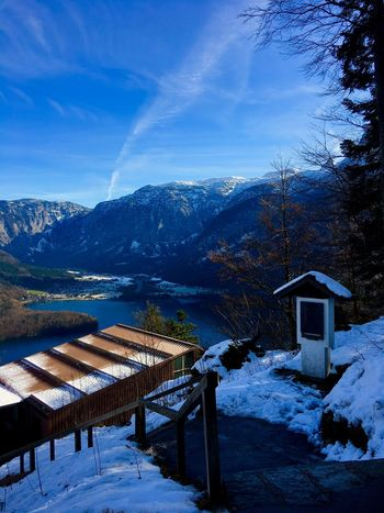 Hallstatt Shades Of Winter Landscape_photography Clouds And Sky Lake View Winter Photography Snow ❄ Shades Of Winter