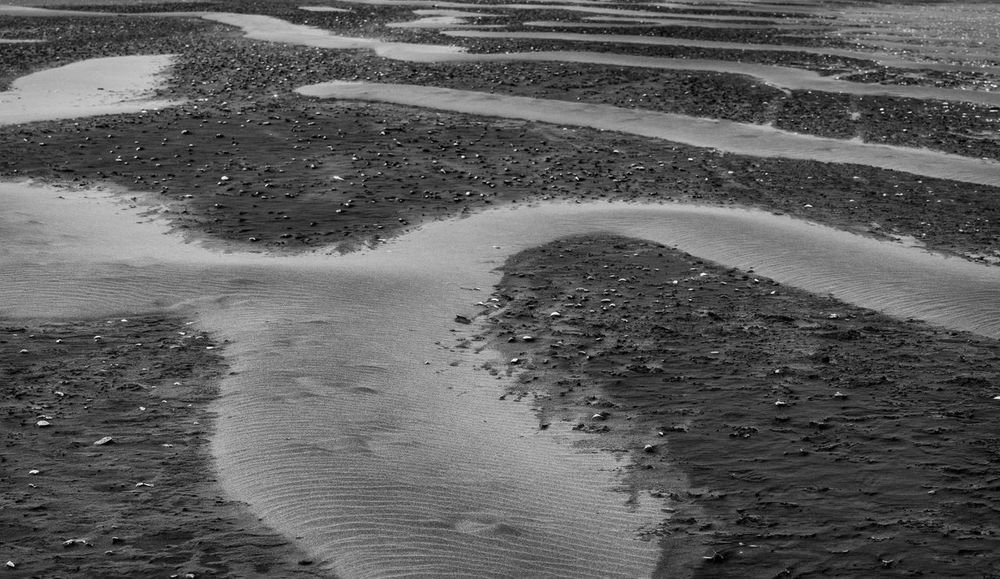 Beach Black & White Raglan Raglan Nz Blackandwhite Landscape Sand Art Sand Dune
