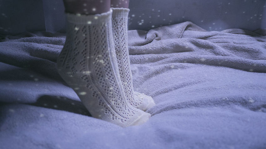 In the mood of Snow TK Maxx Socksie Beauty In Nature Close-up Clothing Comfy  Cosy, Cozy Dawn Fashion Feet Indoors  Lace Low Angle View No People Product Product Photography Projection Snow Snowy Socks Starry Sky Wardrod Lieblingsteil
