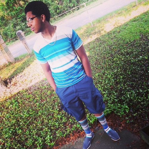 He Just Be Chillin' Thisguy Goodmood Blue Swag