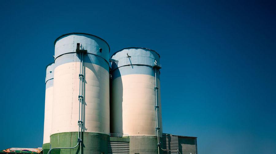 triple silo Sky