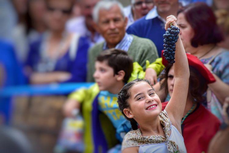 Baile de la vendimia Togetherness Leisure Activity Celebration Women Smiling Day Young Women People Portrait Popular Party Popular Outdoors Photography Olite Navarra