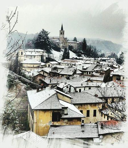 Centro Storico MyCity❤️ Castiglioneolona Winter Landscape Winter Sky Photography Italy Lombardia Province Varese Collegiata