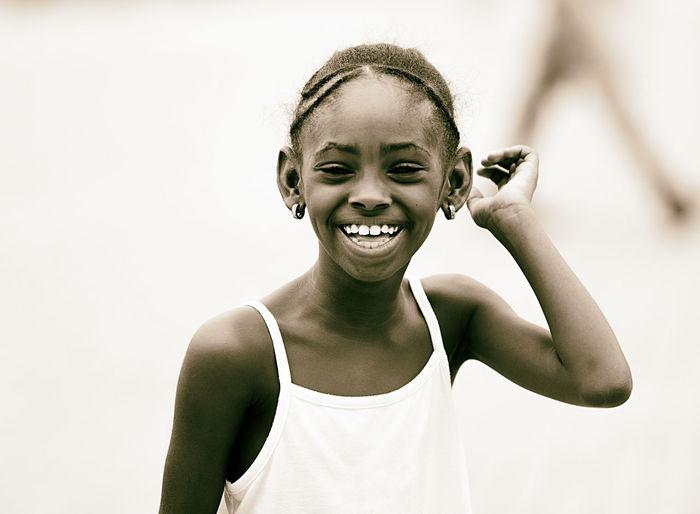 smiling girl II
