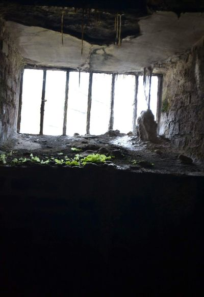 Ireland Old Prison Irelandinspires Nature Window Indoors  Abandoned Built Structure Old Ruin Architecture Spooky