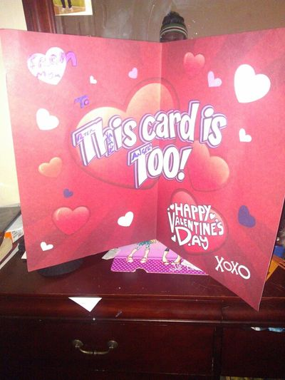 Ma Humongous Vals Day Card