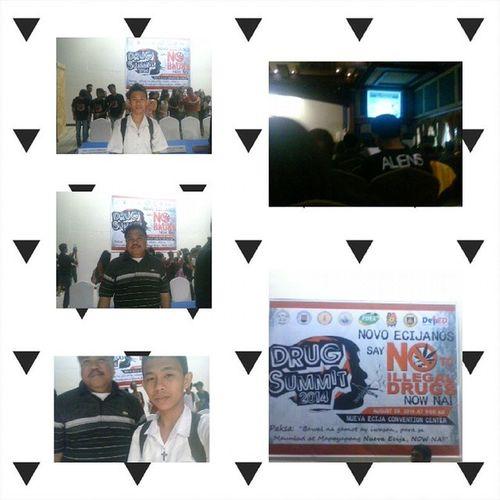Nuevaecijaconventioncenter Palayancity NCC Drugsummit2014 natatawa ko ??