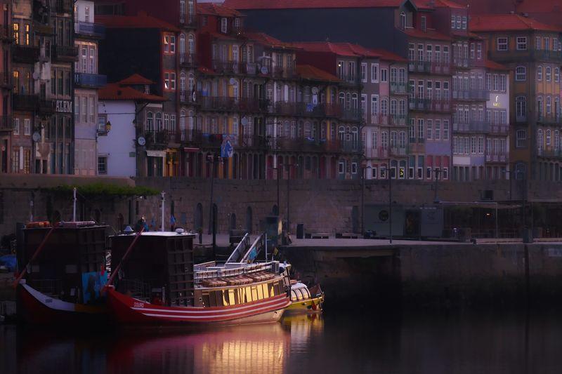 River boat at