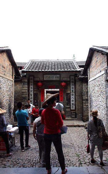 Inside of Hakka Circle House Hokkien Hakka Ancient Culture Tourist Attraction  China Photos Traveling In China Yong Ding Fujian, China Wanderlust China