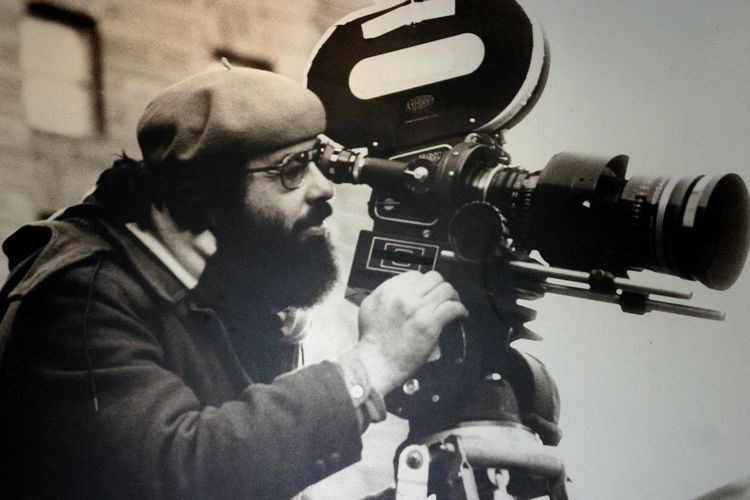 Francis Ford Coppola at work Camera - Photographic Equipment Camera Operator CameraMan Coppola Day Director Of Photography Eyeglasses  Film Industry Human Hand Indoors  Men Movies Nappavalley Occupation One Person Photography Themes Real People Technology USA