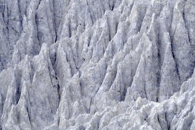 Full Frame Shot Of Glaciers
