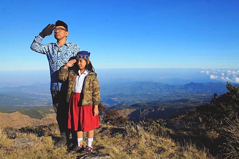 Gunung bawakaraeng spot 17 agustus 2015 MERDEKA!!