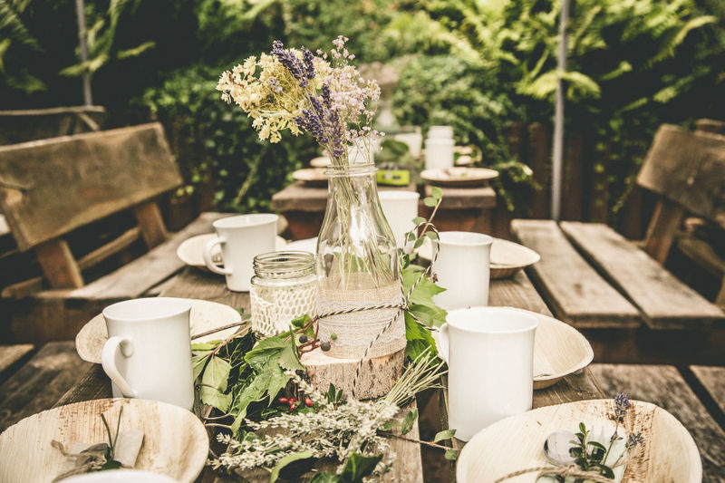 Decoration Wedding Food And Drink Wood Alternative Marriage Alternative Party Arrangement Boquet Cafe Crockery Cup Drink Flower Flowering Plant Focus On Foreground Food And Drink Forest Nature Nice Arrangement Outdoors Plant Refreshment Restaurant Still Life Table Vase Wooden EyeEmNewHere