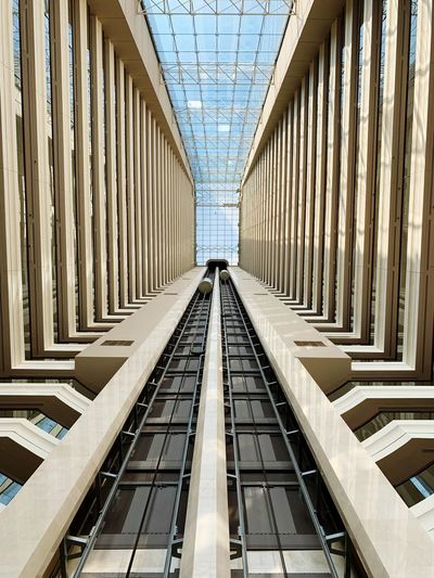 Architecture Built Structure Direction The Way Forward Day Diminishing Perspective No People Transportation Sunlight Building Pattern In A Row