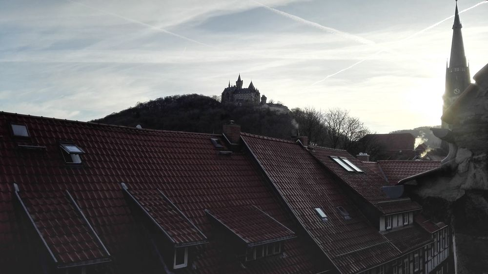 Wernigerodecastle Werningerode Travel Destinations Hometown Beautiful Mobile Photography Castle Sunrise Church Oldtown