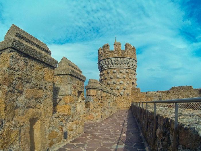 Castle walls in