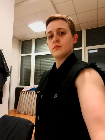 Snapshot at work Atwork Atworkrightnow Workplace Self Portrait Selfportrait Ftm Transgender Transman Transmasculine Snapshots of Life Snapshot Snapshot EyeEm Selects Portrait Standing Looking At Camera Thinking Pretty
