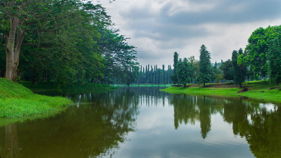 pond at golf