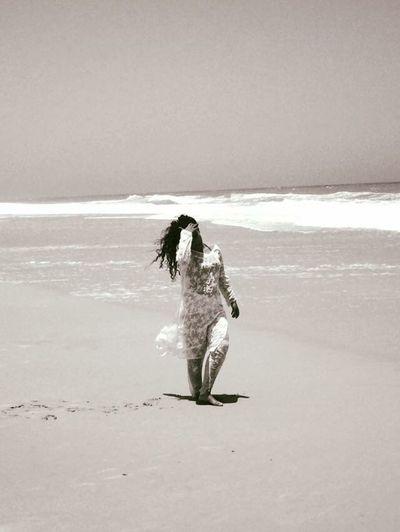 Africa Sole Sea Sun Wind Dakhla Ocean Girl Atlantic Ocean African Beauty Relaxing