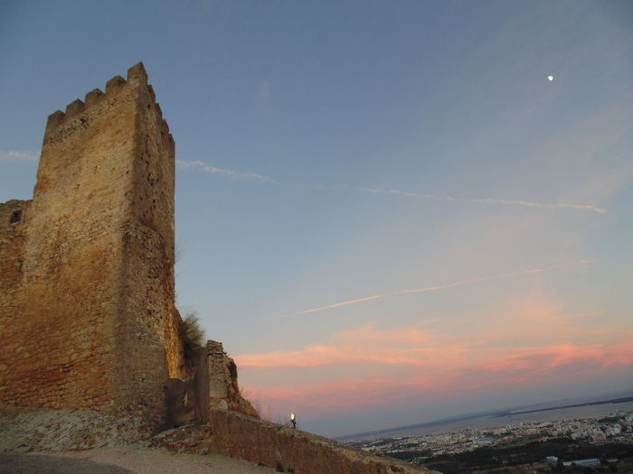 History Old Ruin Pyramid Ancient Travel Destinations Architecture Ancient Civilization No People Built Structure Outdoors Day Sky Sunset Nature The Week On EyeEm Castelo De Palmela Palmela Castle Castle View  Castle Tower Architecture