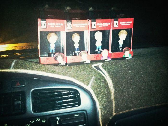 My new car buddies!! Thanks Brandi!!!