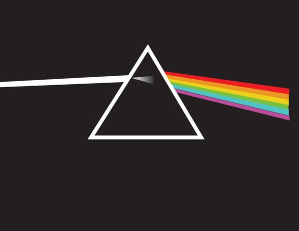 Adobe Illustrator Desenho Pink Floyd Rock The Dark Side Of The Moon