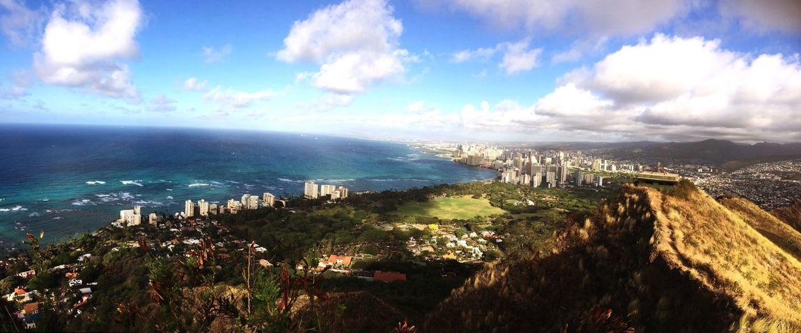 Stunning view!!! Panorama Hawaii
