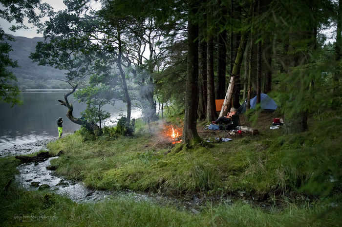Fishing with friends at Loch Ard, camping in the woods Cam Camp Fire Camping Fire Fish Fishing Flame Forest Fresh Water Kinlochard Lake Loch  Loch Ard River River Forth Scotland Scottish Scottish Highlands Scottish Weather Tent Trossachs WoodLand Woodlands Woods