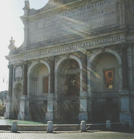 Fontana dell'acqua paola Roma Rome Gianicolo Fontana Dell'acqua Paola